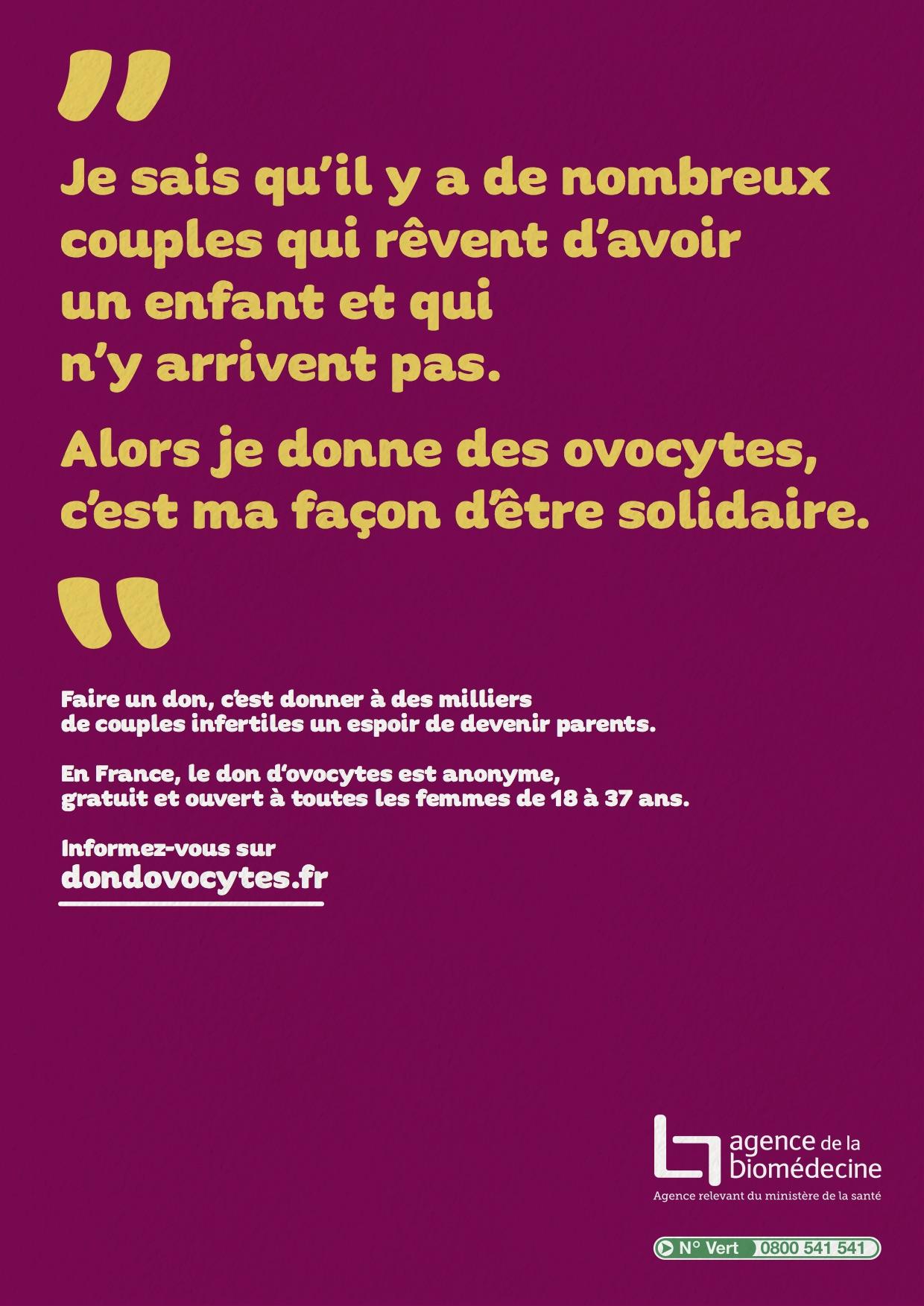 Don Dovocytes Le Site Dinformation De Référence Sur Le Don D